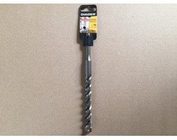 "SDS ""booster plus"" 3-cutter drill bit M16mm x 210mm"
