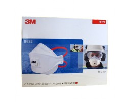 Dust mask 3M Aura FFP3 9332+ (box 10)