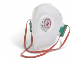 Dust Mask FFP2 Fold Flat Valved (box 20)
