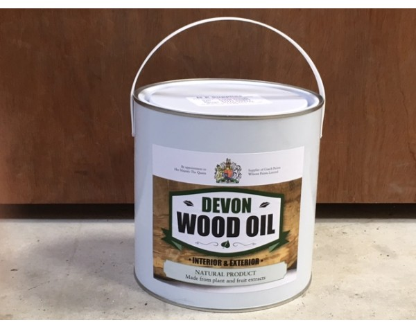 Devon Wood Oil 2.5 ltr by MP Supplies