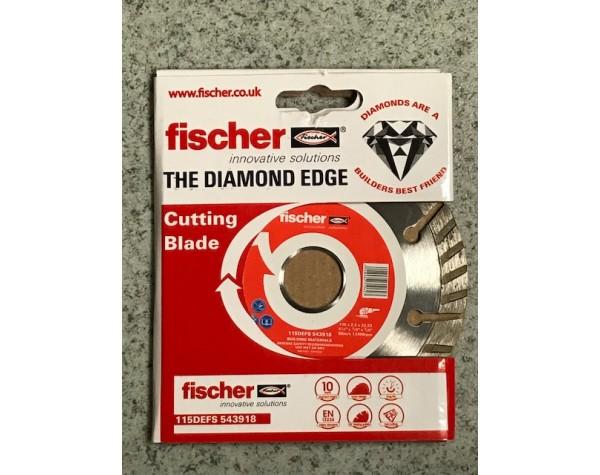 Fischer diamond blade 115x22.2mm by MP Supplies