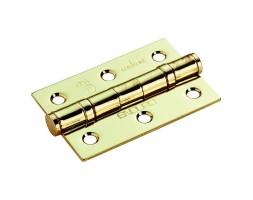 Hinge BB PVD brass 76x51x2mm (pair)