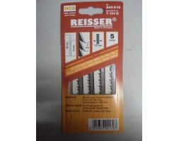 Jigsaw blades for Wood and Plastic Reisser T101D (pk5)