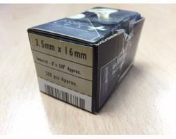Screw y/chromate c/sunk Trx 3.5x16mm x 200