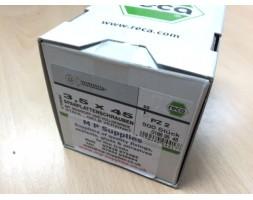 Screw y/chromate c/sunk pz 3.5x45mm (box 500)
