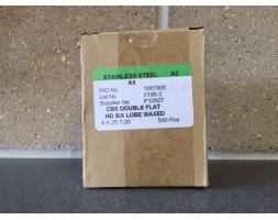A2/SS Torx c/sunk wood screw 4x25 x 500