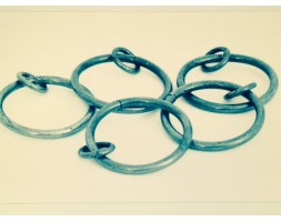 Anvil Curtain Ring Pewter