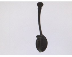 Anvil Large Hat & Coat Hook Black