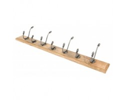 Anvil Country Hat & Coat Rack Natural Smooth & Timber