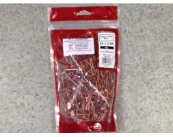 Copper Clout Nails 38 x 2.65mm 1kg