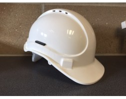 Safety helmet white SCOTT Elite 8pt c/w harness