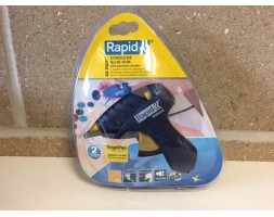 Rapid hand held cordless glue gun