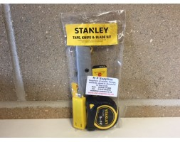 Stanley Tape, Knife and Blade kit