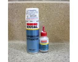 Superglue and Activator