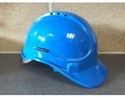 Safety helmet Blue SCOTT Elite 8pt c/w harness