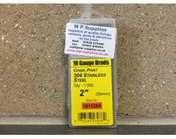 Brads ST/ST 18 gauge / 50mm (box 1000)